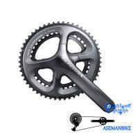 طبق قامه دوچرخه کورسی جاده شیمانو التگرا 6800 Shimano FC 6800 ULTEGRA 53X39T