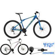 دوچرخه کوهستان جی تی مدل اگرسور اکسپرت ترمز هیدرولیکی سایز 27.5 2015 GT Aggressor Expert
