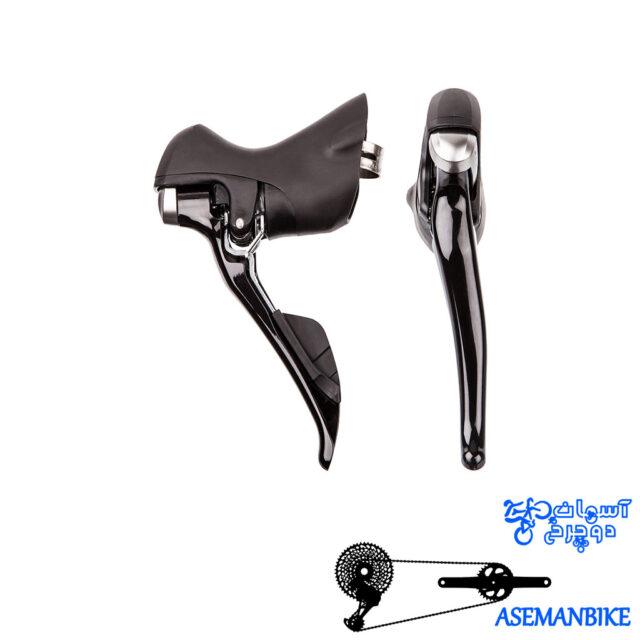 دسته دنده شیمانو 105 دو در یازده سرعته Shimano 105 5800 2x11 Speed STI Shifter Set