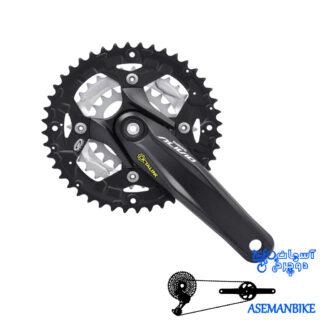 طبق قامه دوچرخه کوهستان شیمانو الیویو ام 430 Shimano ALIVIO FC-M430 44X32X22