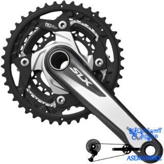 طبق قامه دوچرخه کوهستان شیمانو اف سی ام 670 Shimano FC M670 SLX 42X32X24T