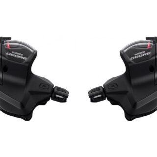 دسته دنده شیمانو دیور اس ال 6000 ده سرعته Shimano Deore Shift Lever Set Rapidfire SL-M6000 10-speed