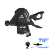 دسته دنده شیمانو ام 670 سه در ده سرعته Shimano SLX Rapidfire PLUS SL-M670-B I Spec 2 3 x10 speed