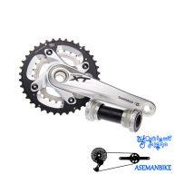 طبق قامه دوچرخه کوهستان شیمانو ایکس تی ام 785 Shimano XT FC-M785 38X24T