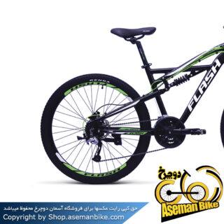 دوچرخه کوهستان فول ساسپنشن فلش مدل هاردراک1 سایز 27.5 Flash Hard Rock1