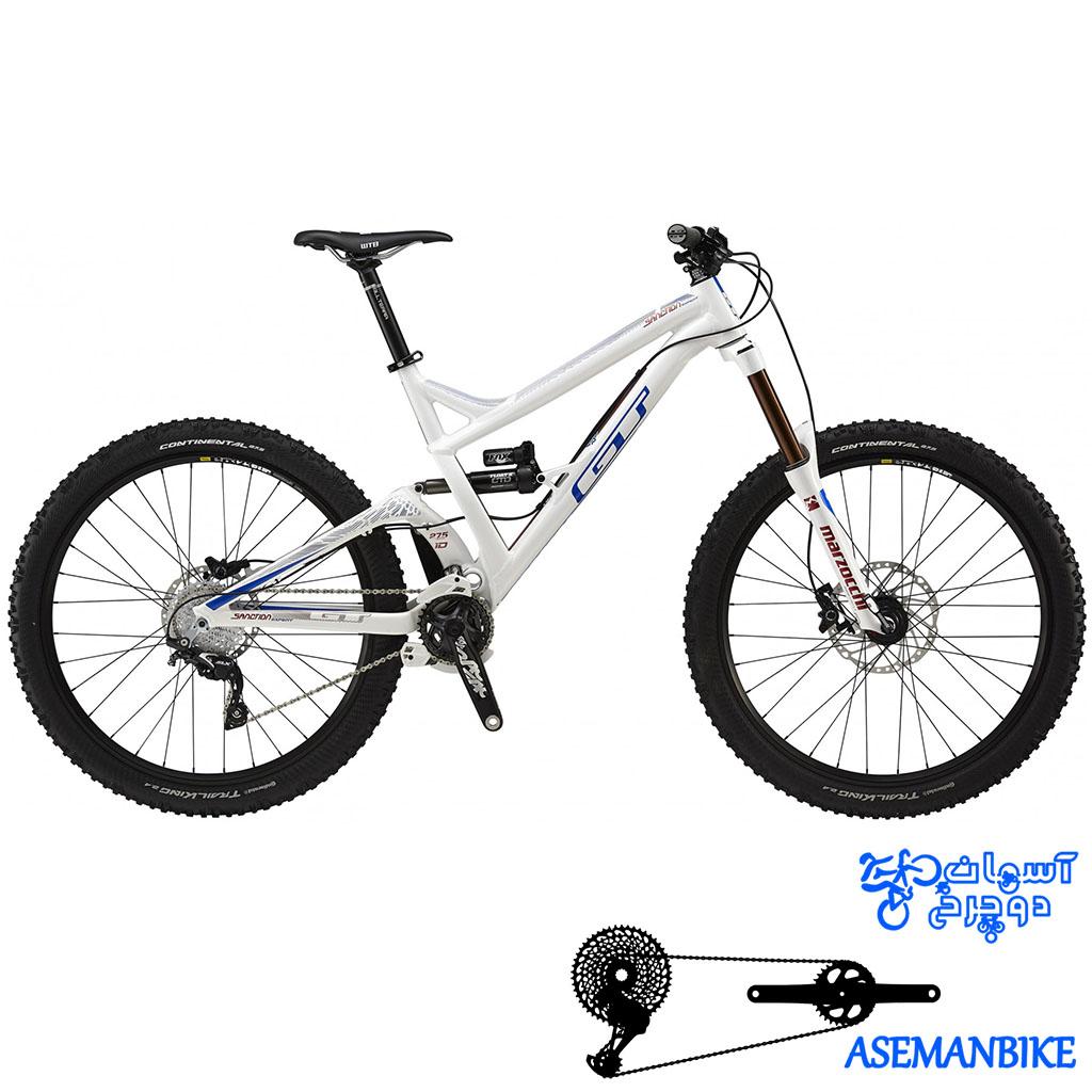 دوچرخه آلمانتین سنسیشن اکسپرت جی تی سایز 27.5 GT Sanction Expert 2015