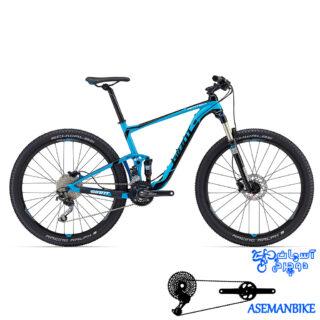 نمایندگی دوچرخه فول ساسپنشن کراس کانتری جاینت مدل انتم 3 سایز 27.5 Giant Anthem 3 2016