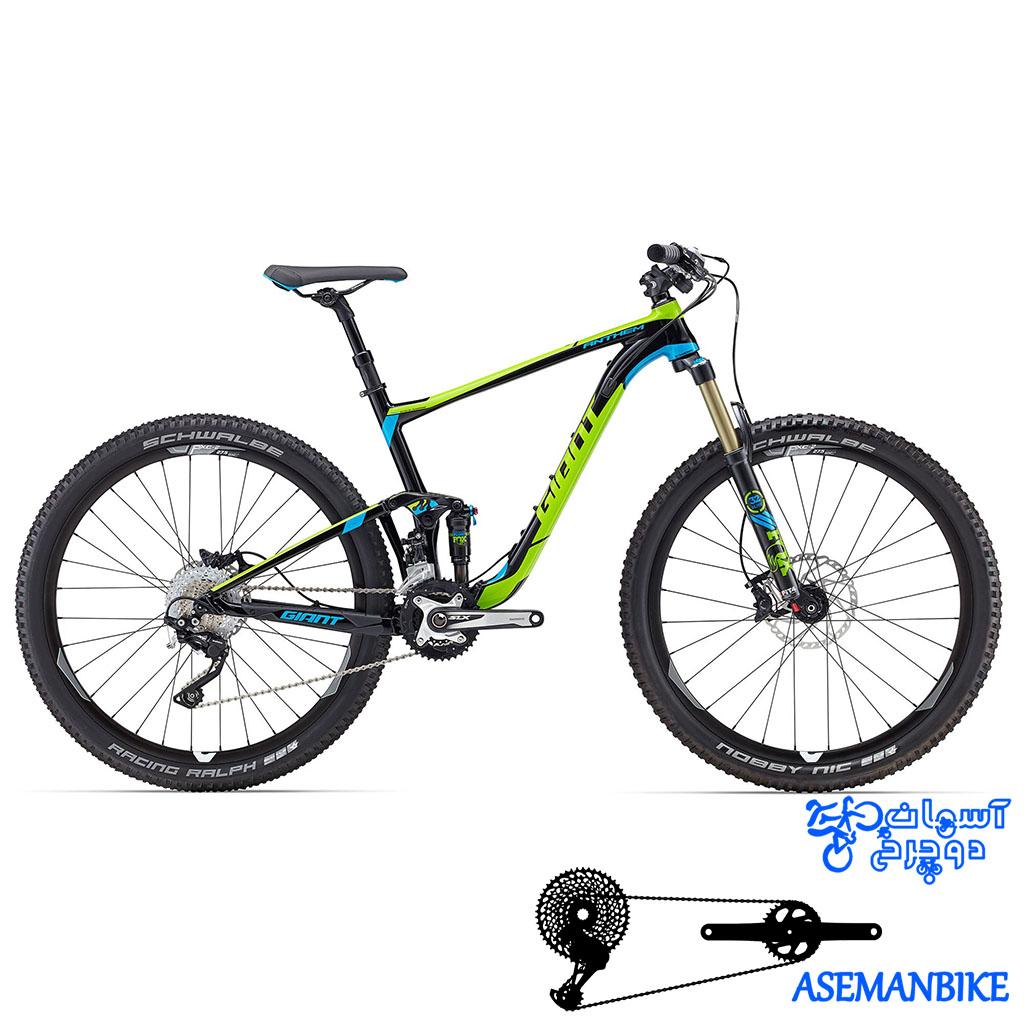 نمایندگی دوچرخه فول ساسپنشن جاینت مدل انتم اس ایکس سایز 27.5 Giant Anthem SX 2016