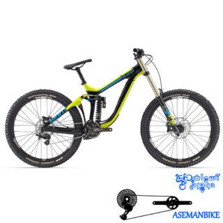 نمایندگی دوچرخه جاینت گلوری ادونس 1 مدل سایز 27.5 Giant Glory Advanced 1 2016
