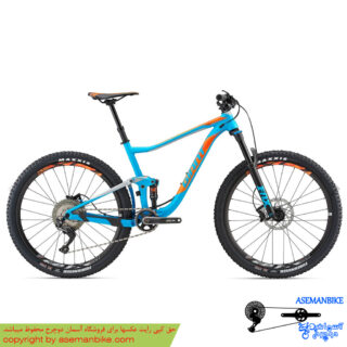 نمایندگی دوچرخه فول ساسپنشن جاینت مدل انتم 2 سایز 27.5 2018 Giant Mountain Bicycle Anthem 2 27.5 2018