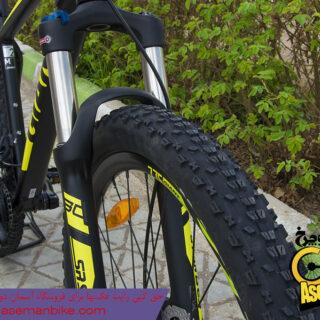 دوچرخه کوهستان جاینت مدل تالون 2 سایز ۲۷٫۵ مشکی سبز Giant Talon 2 27.5 2018