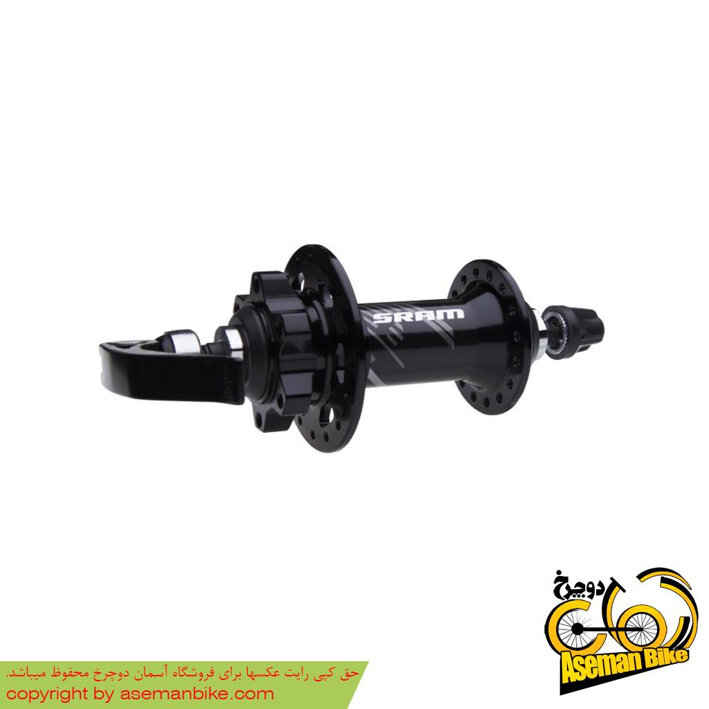 توپی جلو دوچرخه اسرم مدل 506 32 سوراخ دیسکی 6 پیچ SRAM 506 Hub Front