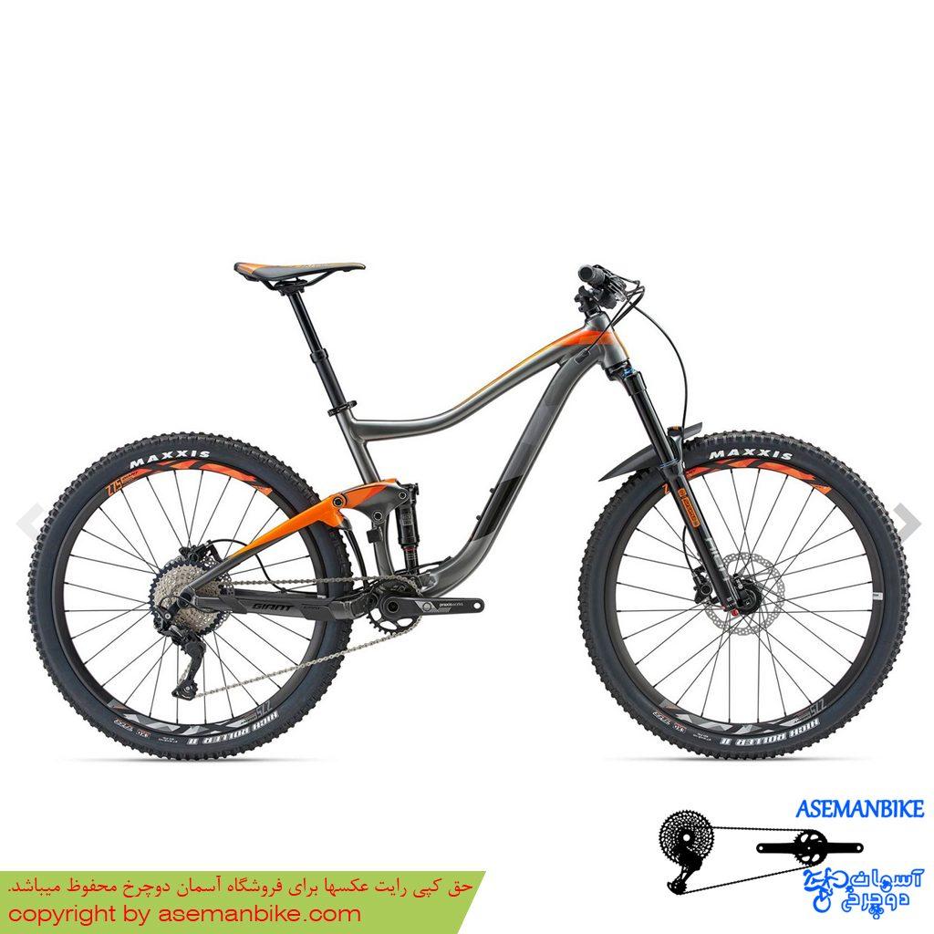 نمایندگی دوچرخه فول ساسپنشن تریل جاینت مدل ترنس 3 سایز 27.5 Giant Trance 3 27.5 2018 2018
