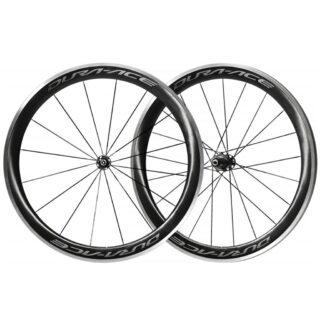 طوقه کامل عقب و جلو دوچرخه شیمانو لبه بلند دورچسب کربن Shimano WH R9100 C60 TU CARBON