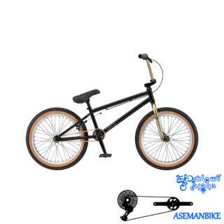 دوچرخه بی ام ایکس جی تی مدل سایز 20 GT BMX WISE 2015
