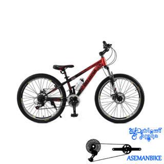 دوچرخه کوهستان المپیا مدل باکسر سایز 26 OLYMPIA Boxer 2-Disc