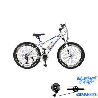دوچرخه کوهستان المپیا مدل Happy سایز Olympia Happy Mountain Bicycle Size 26 26