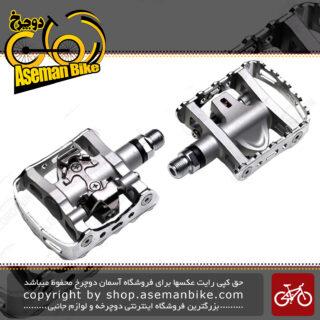پدال دوچرخه کوهستان شیمانو لاک قفلی پی دی ام 324 دو طرفه Pedal Shimano Pedal PD-M324 Bicycle