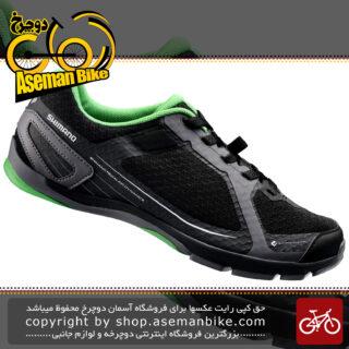کفش شهری شیمانو مدل سی تی ۴۱ مشکی Shimano CT41 Touring Mountain Bike Shoes Black
