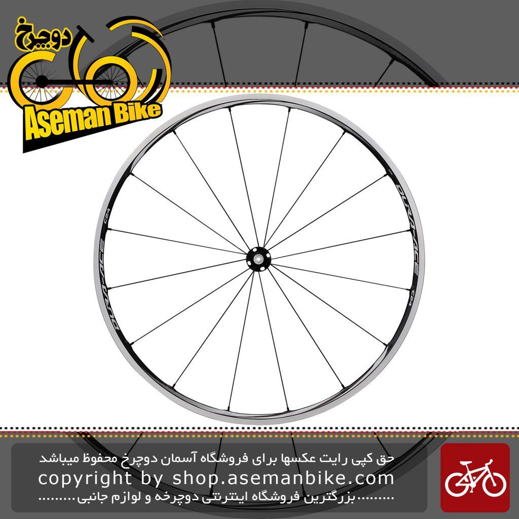 طوقه کامل دوچرخه جاده ای شیمانو کربن دورا ایس Shimano Dura Ace WH-9000-C24-CL-Front & Rear