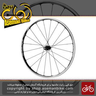 طوقه کامل دوچرخه جاده ای شیمانو کربن دورا ایس Shimano Dura Ace WH-9000-C24-CL-Front
