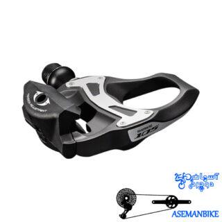 پدال دوچرخه کورسی شیمانو لاک قفلی Shimano Pedal PD-5800 105