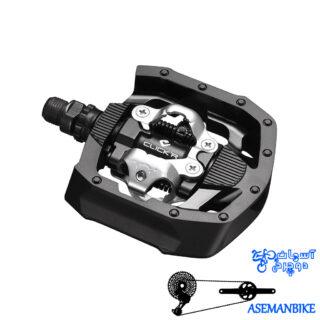 پدال دوچرخه کوهستان شیمانو کلیک آر قفلی Shimano Pedal PD-MT50 CLICK'R