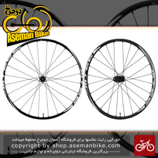 طوقه کامل جلو و عقب تیوبلس دوچرخه شیمانو سایز 26 Shimano WH-MT66 TUBELES 26 inch