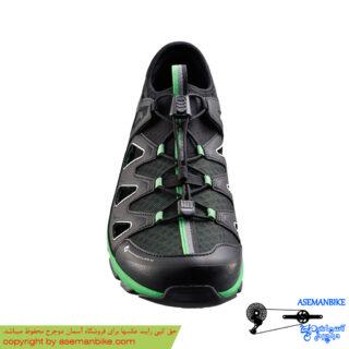 کفش دوچرخه شیمانو شهری تابستون مدل سی تی 46 مشکی Shimano Shoes Ct46