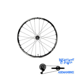 طوقه کامل دوچرخه شیمانو مدل دیور ایکس تی تیوپلس Shimano WH-M785 26 DEORE XT TUBELES