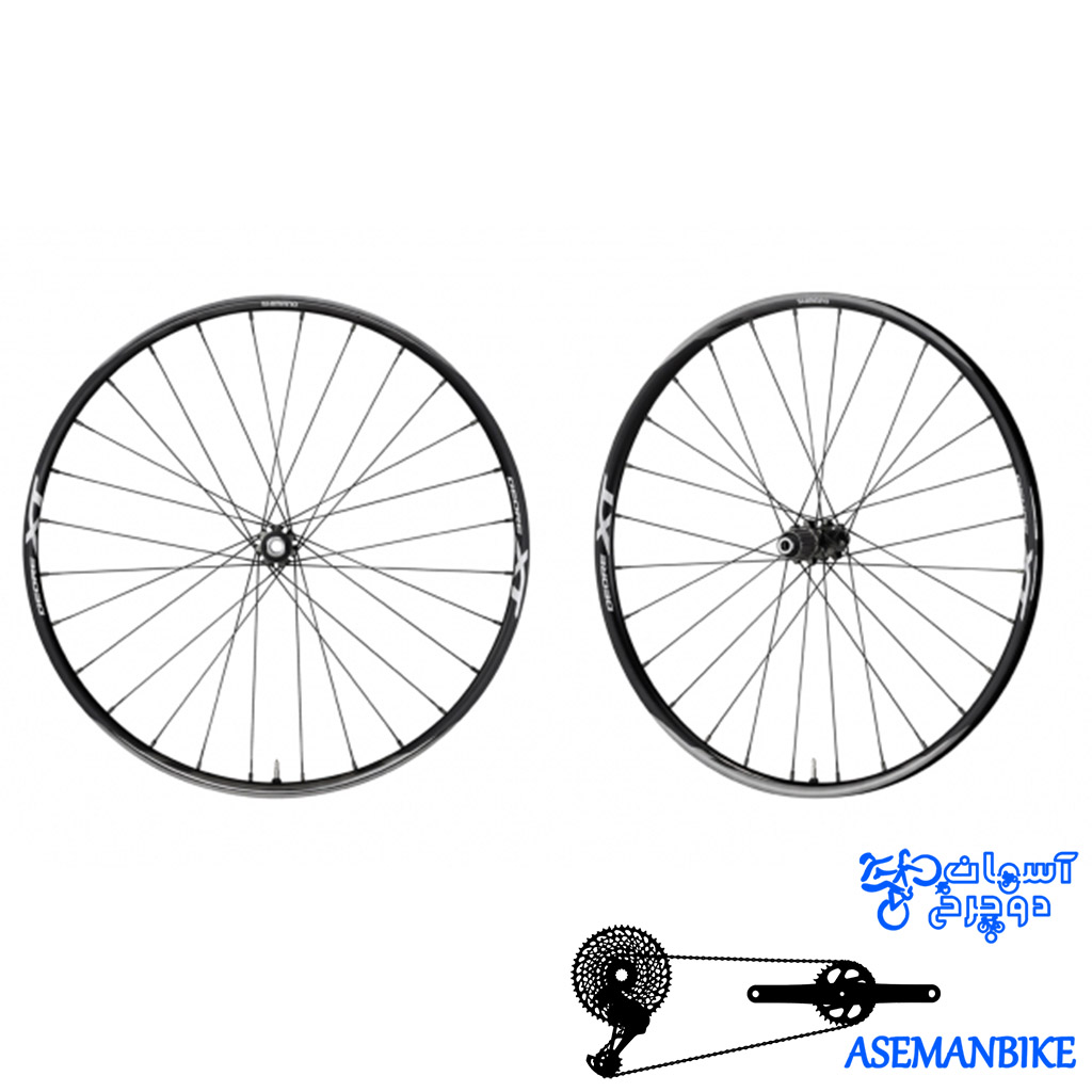 طوقه کامل دوچرخه شفتی 29 ایکس تی تیوپلس WH-M8000 29 XT F:15/R12M TUBELESS