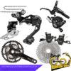 ست کامل دنده ترمز شیمانو ایکس تی ده سرعته Gruop Set Shimano XT 10 Speed