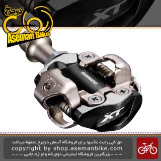 پدال دوچرخه کوهستان شیمانو لاک قفلی Shimano Pedal PD-M8000 XT