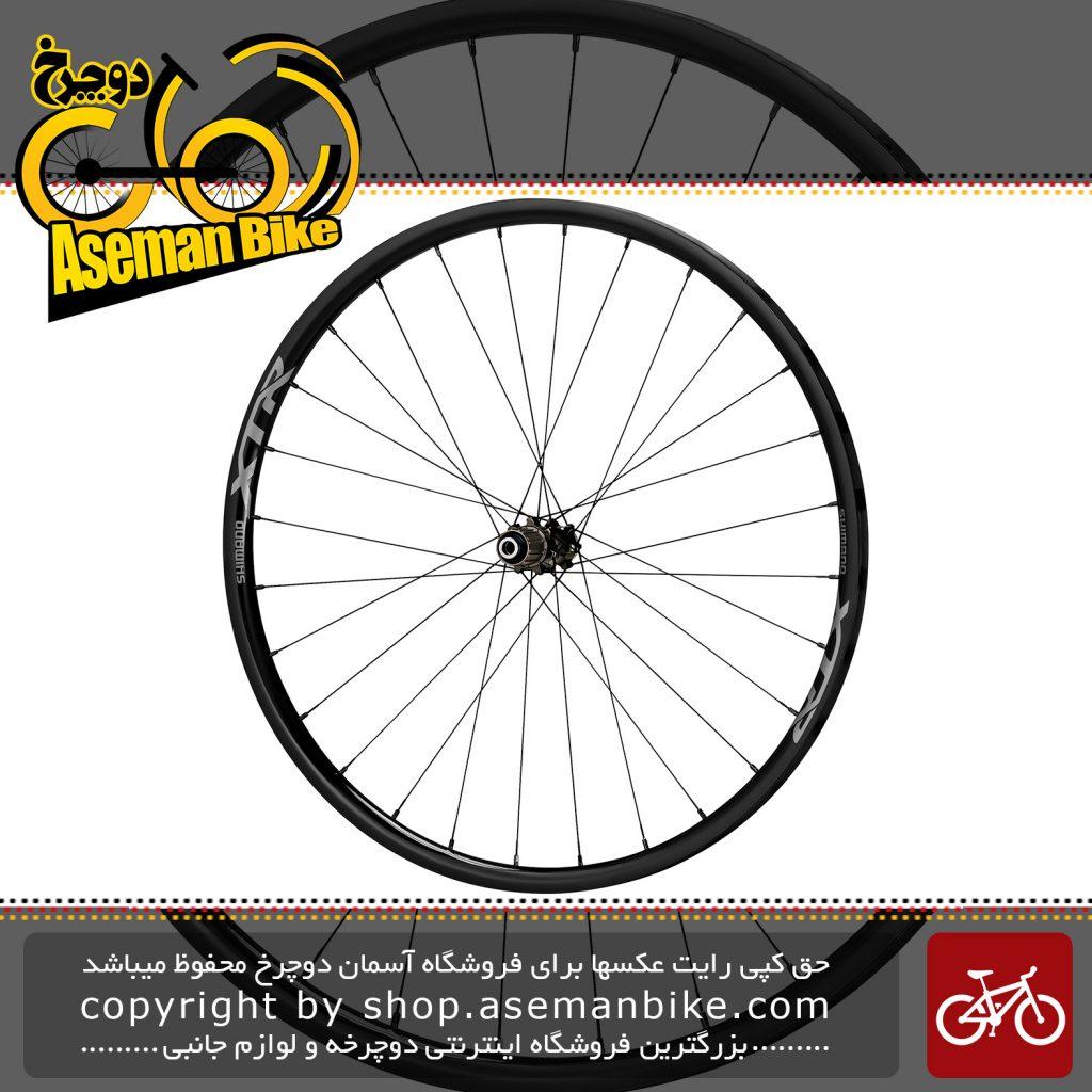 طوقه کامل دوچرخه شفتی ایکس تی ار 29 تیوپلس Shimano XTR WH-M9000-TU-Rear12-29 Front15-29 Carbon Tubular