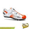 کفش دوچرخه کوهستان سیدی ایتالیا مدل کیپ سفید نارنجی SIDI ITALIA MTB Shoes CAPE
