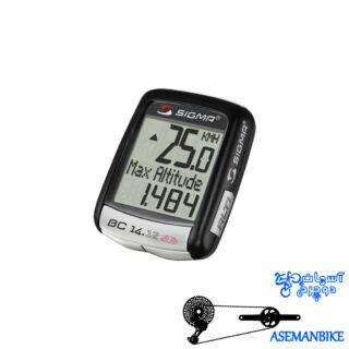 کیلومتر شمار دوچرخه سیگما بی سی التی 14 کاره Sigma BC 14.12 ALTI STS