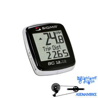 کیلومتر شمار دوچرخه سیگما مدل بی سی 12 کاره Sigma Bc 12.12