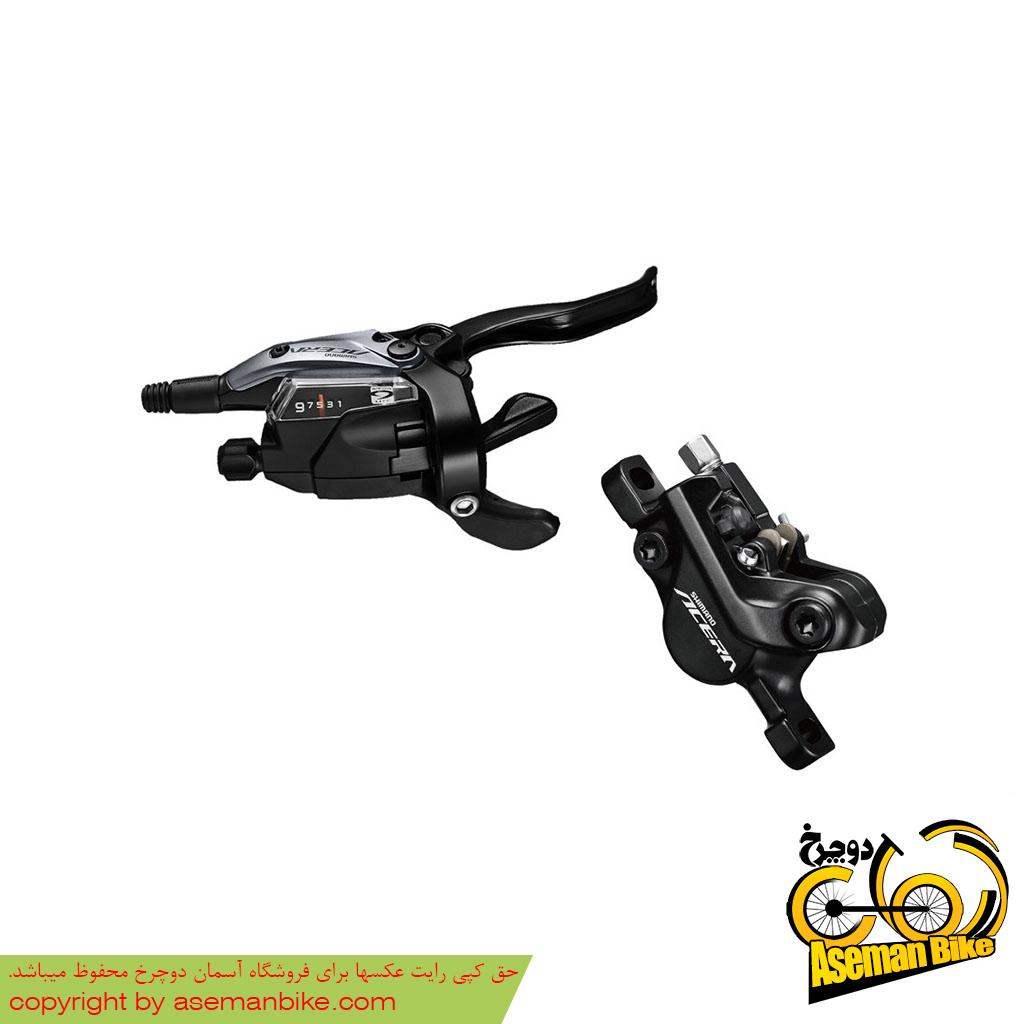 ست دنده ترمز هیدرولیک دوچرخه کوهستان شیمانو آسرا Shimano Acera M3050