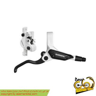 ترمز دوچرخه دیسکی هیدرولیک روغنی جلو و عقب شیمانو Shimano Disc brake M395