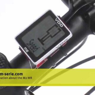 کیلومتر شمار دوچرخه و دی او مدل ام 2  آلمان Cyclecomputing VDO M2 WR