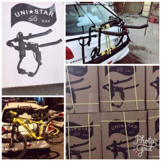 باربند ماشین صندوقی دوچرخه یونی استار جی اس 4 Car rack for Bike Uni Star GS4