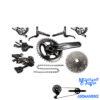 ست کامل دنده و ترمز شیمانو ایکس تی ار مدل 11 سرعته Group Set Shimano XTR M9000 1×11
