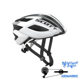 کلاه جاده حرفه ای اسکات مدل آرکس وای 6-Scott ARX Helmet y6