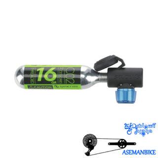 کپسول CO2 سینکراس با آداپتور نوزله 16 گرمی Syncros Nozzle CO2 Cartridge Pump incl 16g