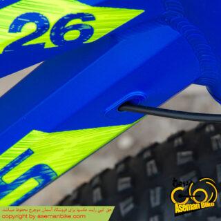 دوچرخه فت بایک کوفیدیس مدل اسمارت سایز 26 آبی Cofidis Fat Bike Smart 26 Blue