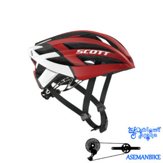 کلاه جاده حرفه ای اسکات مدل ویت-آر Scott Wit r Helmet