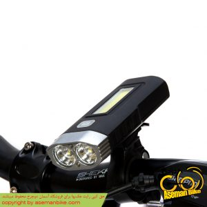 چراغ جلو دوچرخه بریویجا شارژی پاور بانک Briviga Bicycle Light and Power Bank