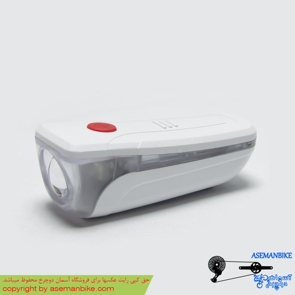 چراغ جلو دوچرخه ال ای دی ایکس سی مدل 163 XC Bicycle Head Light 0.5 watt LED