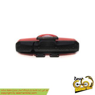 چراغ خطر عقب دوچرخه بریویجا ال ای دی شارژی بی آر وی 024 Briviga LED Back light Rechargeable BRV-024