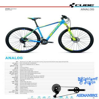 نمایندگی دوچرخه کیوب مدل آنالوگ سایز 29 CUBE Analog 2016